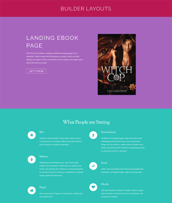 ebook book wordpress themes