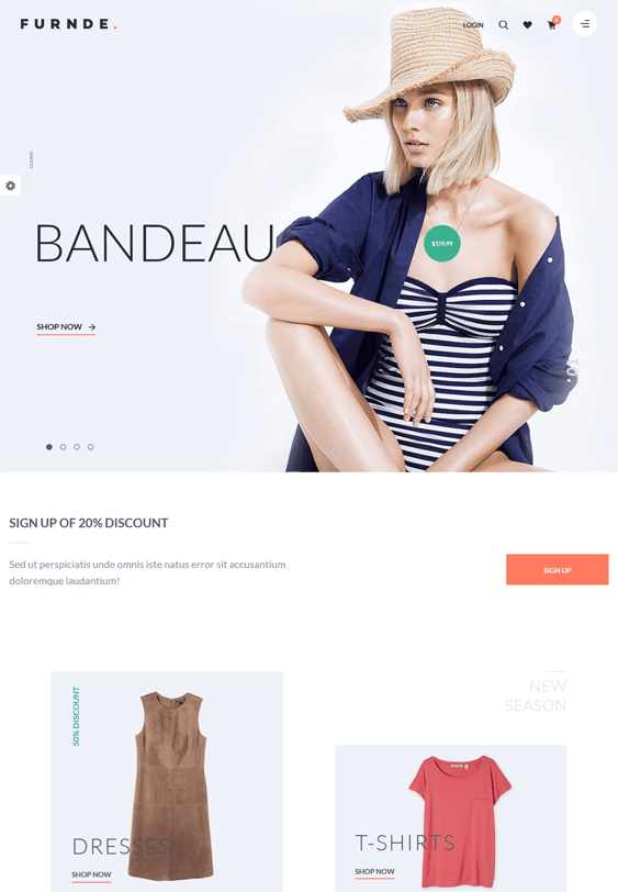 furnde woocommerce themes