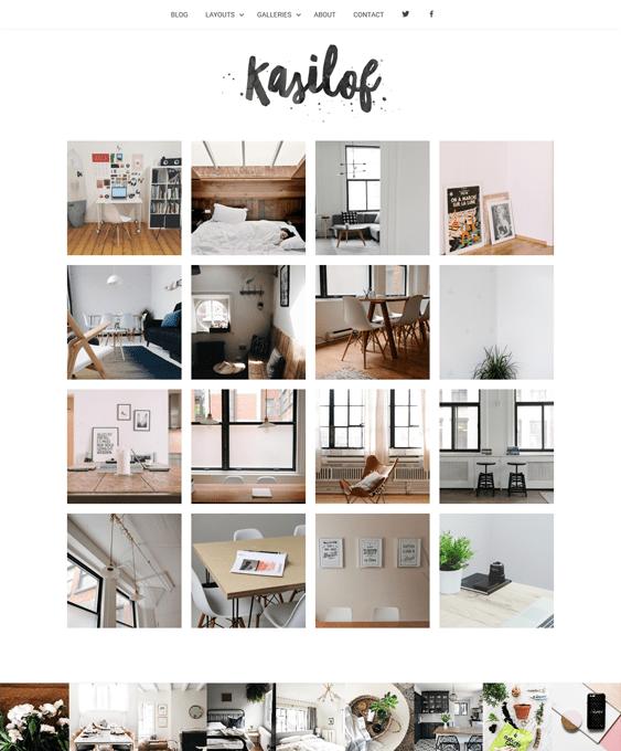 kasilof interior design wordpress themes