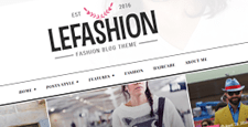 more best fashion blog wordpress themes feature