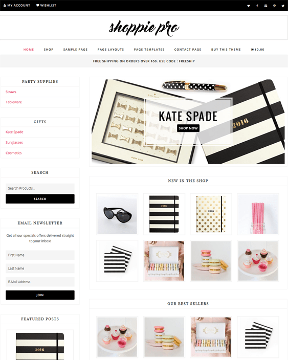 shoppie woocommerce themes