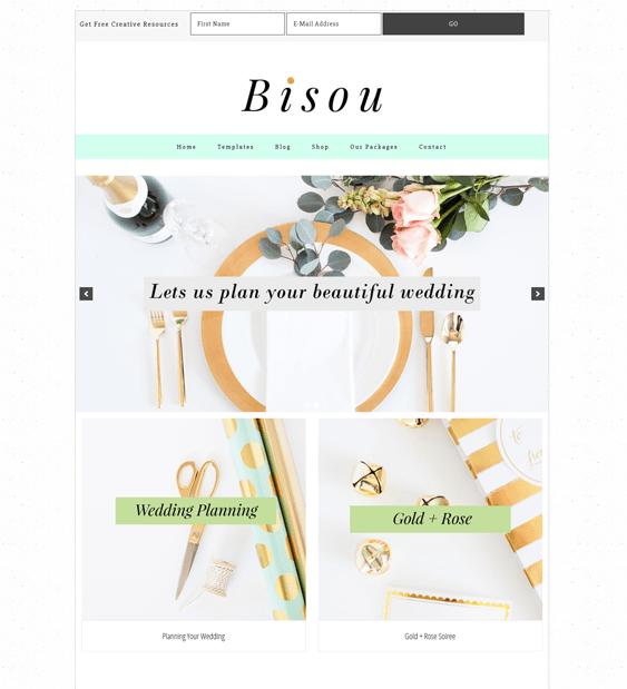 bisou feminine wordpress themes