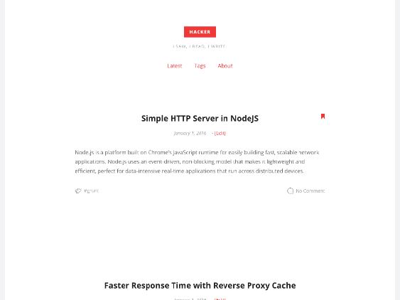 hacker free minimal wordpress themes