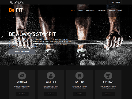 skt befit free dark wordpress themes