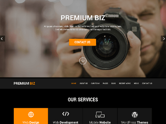 skt black free dark wordpress themes