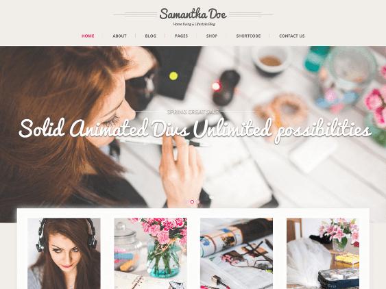 skt girlie free feminine wordpress themes