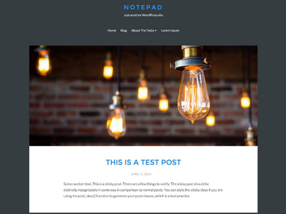 solo free dark wordpress themes
