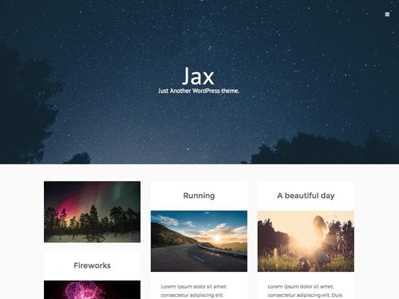 jax free masonry wordpress themes
