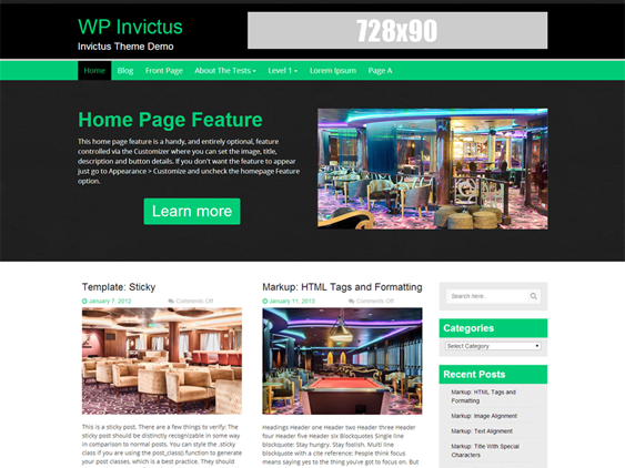 wp invictus free masonry wordpress themes