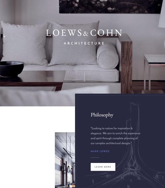 architekt architect architecture firms wordpress themes