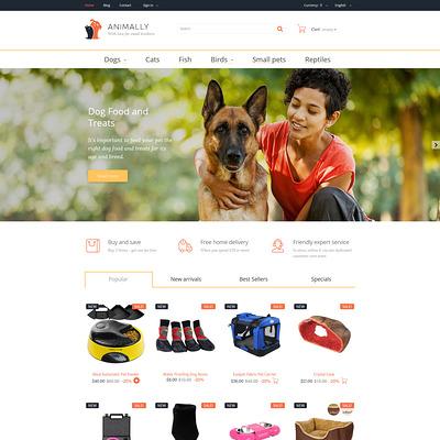 Animally PrestaShop Theme (PrestaShop theme for pet stores) Item Picture