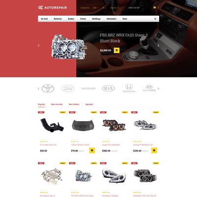 Autorepair (PrestaShop theme for car, vehicle, and automotive stores) Item Picture