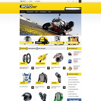 Bike Shop PrestaShop Theme (PrestaShop theme for car, vehicle, and automotive stores) Item Picture