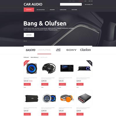 Car Audio Video PrestaShop Theme (PrestaShop theme for car, vehicle, and automotive stores) Item Picture