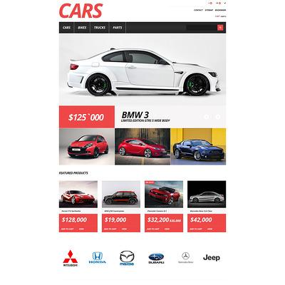 Cars Store PrestaShop Theme (PrestaShop theme for car, vehicle, and automotive stores) Item Picture