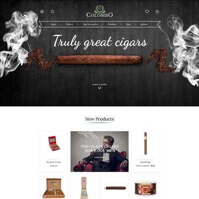 Colombo (PrestaShop theme for tobacco, cigar, and e-cigarette stores) Item Picture