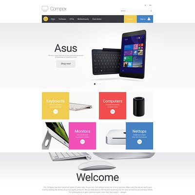 Compex PrestaShop Theme (PrestaShop theme for selling computers and accessories) Item Picture
