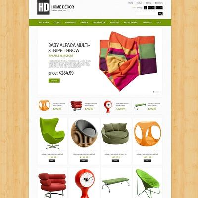 Responsive Home Decor Store PrestaShop Theme (PrestaShop theme for interior design and home decor) Item Picture