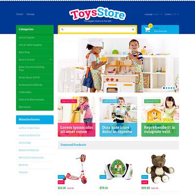 Toys for Kids PrestaShop Theme (PrestaShop theme for toy stores) Item Picture