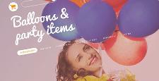 best prestashop themes party supplies stores feature