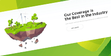 best organic green eco-friendly wordpress themes feature