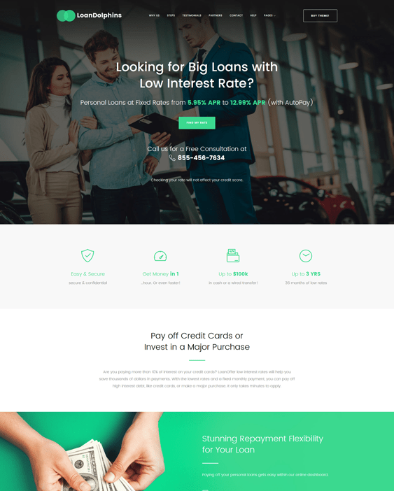 loans mortgages wordpress themes dolphins