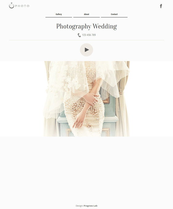wedding wordpress themes minimal