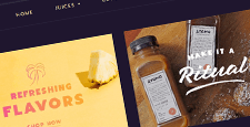 best shopify themes food drink online stores feature