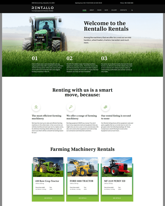5 of the Best Joomla for Farms & Agriculture – <br />down