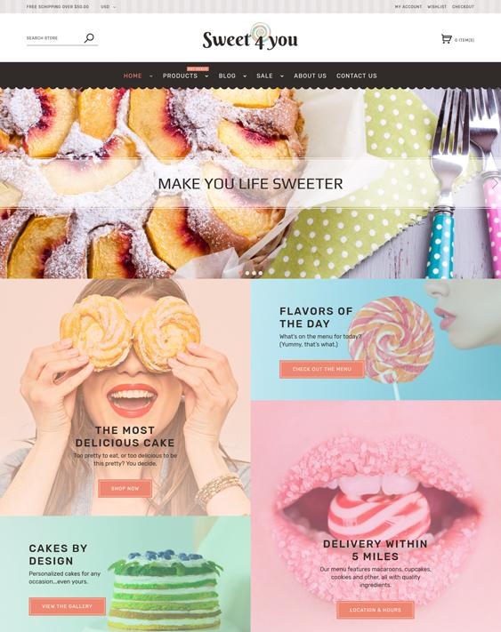sweet-shop-responsive- bakeries cupcake shops bakery shopify themes_62297-original