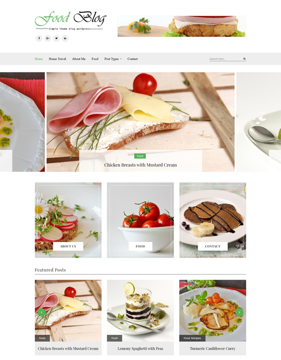 sterling food drink wordpress themes