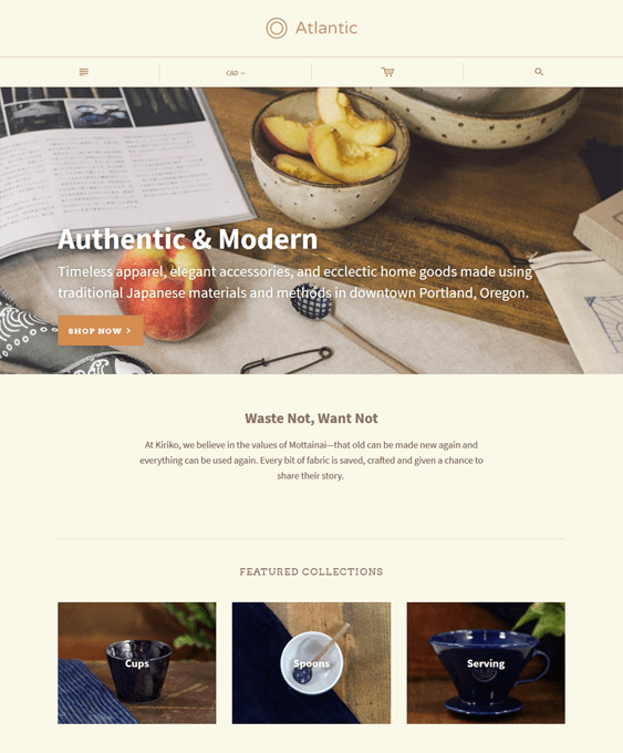atlantic shopify themes interior design home decor stores