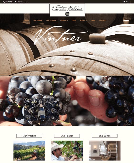 vintner farm agriculture wordpress themes