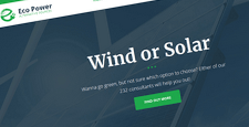 best wordpress themes solar power alternative energy wordpress themes feature