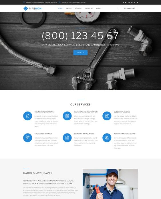 plumbing companies plumbers wordpress themes--repair-services 63395-original
