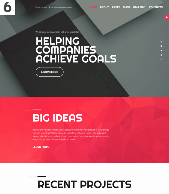 Advertising Agency Joomla Template