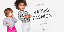 best kids babies magento themes feature