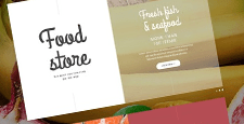 best magento themes food stores feature