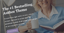best wordpress themes writers authors feature