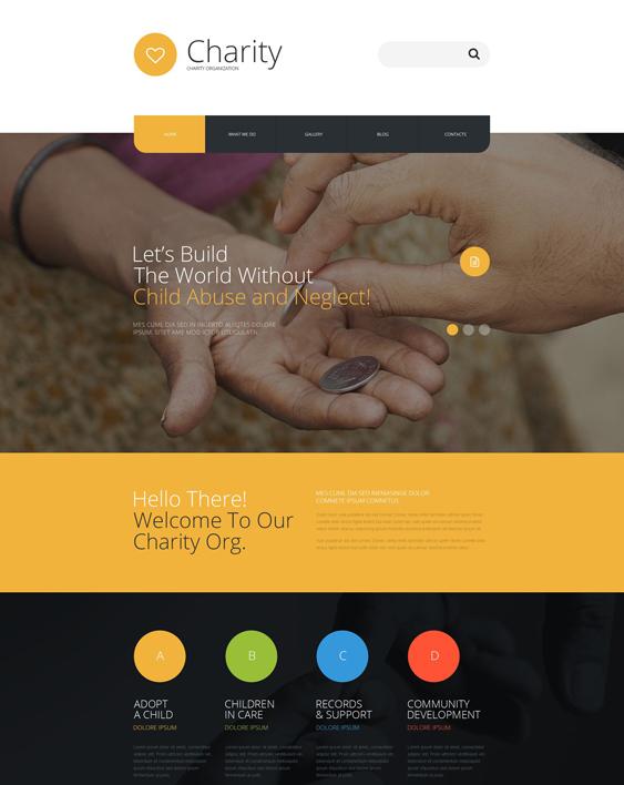 charity nonprofit joomla templates