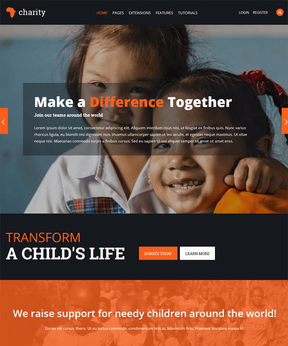 wordpress themes babies children kids