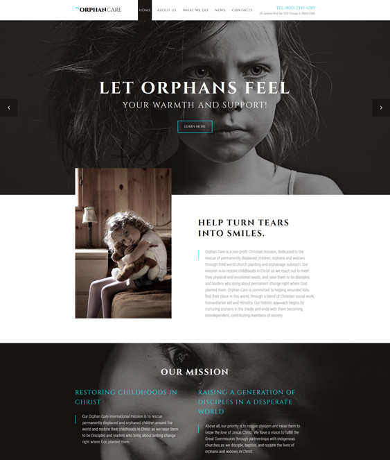 9 of the Best Charity & Nonprofit Bootstrap Website Templates – <br ...