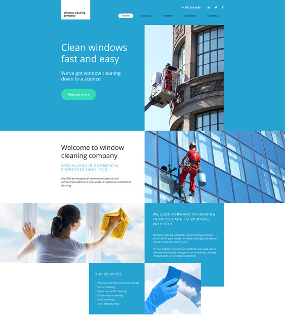bootstrap website templates cleaners cleaning companies maids