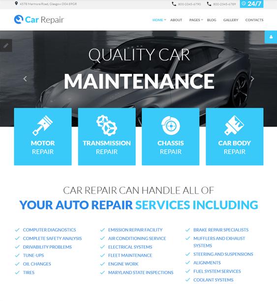 car vehicle automotive joomla templates