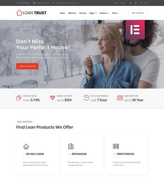 financial wordpress themes finance websites