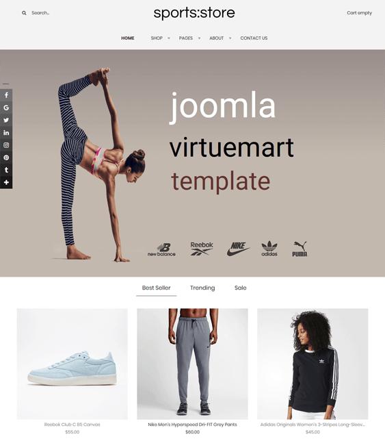 sports joomla templates