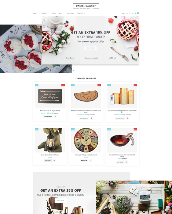 shopify themes homewares home decor