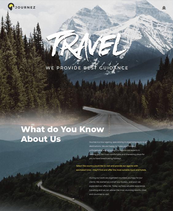 wordpress themes travel blogs tourism websites