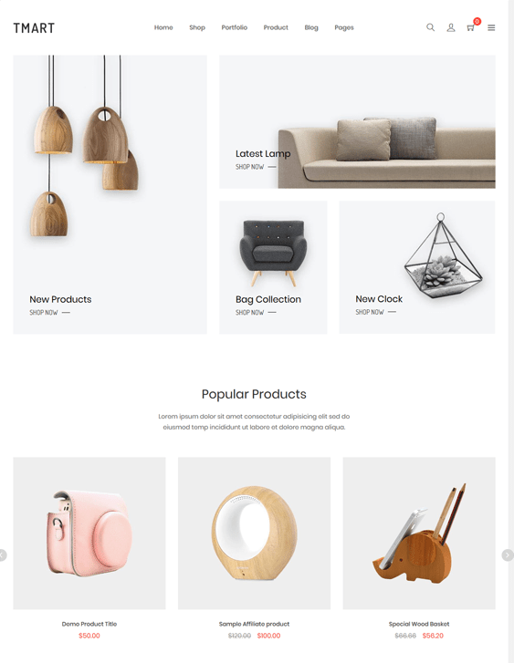 shopify themes furniture home decor