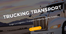 best joomla templates logistics transportation feature